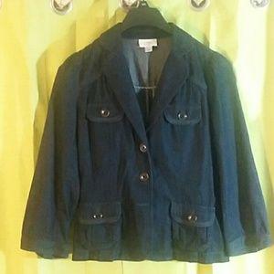 Cute Jean jacket, light weight. Size medium